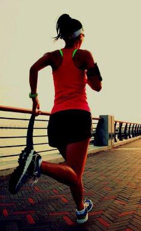 Corrida como exercício resistido para perder gordura