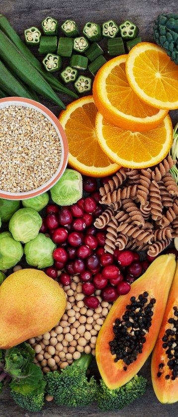 Alimentos com fibras podem causar constipação intestinal