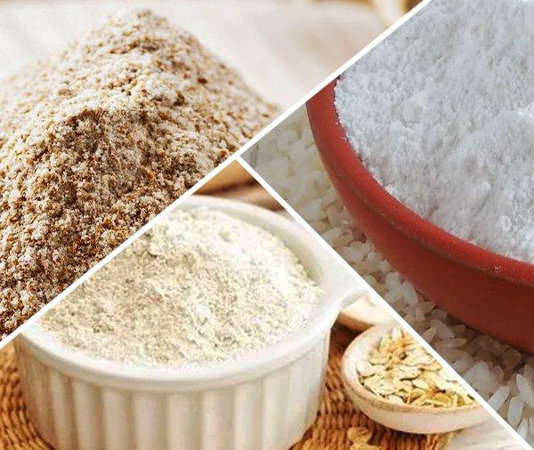 Piores tipos de farinhas pra substituir o trigo